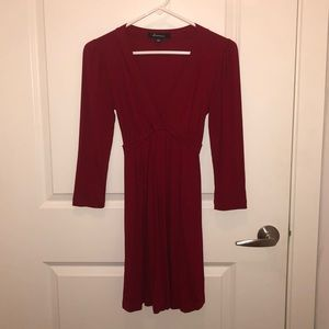 Forever 21 Red long sleeve dress